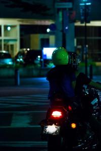 バイク便の一日