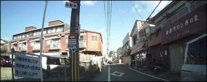 石橋駅近く